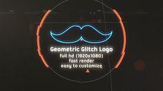 Geometric Glitch Intro