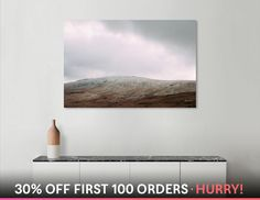 Discover «Snowdonia_4», Limited Edition Canvas Print by Ana Santos - From 65€ - Curioos