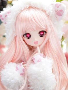Uploaded by Find images and videos about cute, anime and kawaii on We Heart It - the app to get lost in what you love. Beautiful Barbie Dolls, Pretty Dolls, Cute Dolls, Ooak Dolls, Blythe Dolls, Personajes Monster High, Kawaii Doll, Anime Figurines, Smart Doll