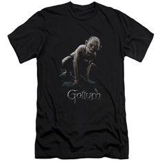 LOR/GOLLUM - S/S ADULT 30/1 - BLACK -