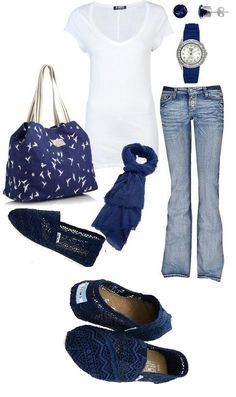 Colored New Navy Toms Crochet Classics Women's Shoes