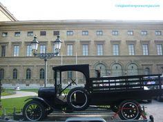 Jardín Inglés (coche de época). Munich, Antique Cars, Germany, Vehicles, Vintage, Paths, Cars, Vintage Cars, Deutsch