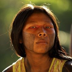 I have been photographing the #Kayapo people of the #Amazon as they continue their battle against the #Belomonte dam. @thephotosociety. #brazil #dam #indigenous #pride.