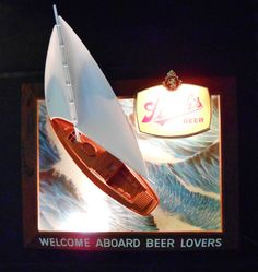 Rare Vintage Busch Beer Pool Table Light Circa 1980 S Pool Table Lighting Lighted Bar Signs
