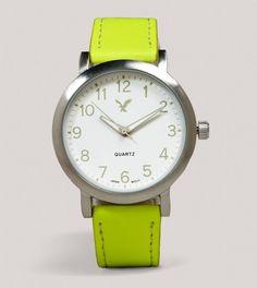 AEO Neon Yellow Watch