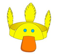 KangarooBoo Blog » Blog Archive » Fun Friday: Story Time + Craft: Webster J. Duck by Martin Waddell and Duck Headband Craft