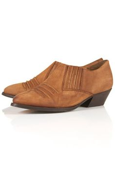 KLINT Stitched Western Shoes