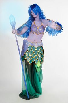 my cosplay from Magnificon Expo 2013 World of Warcraft Nightelf