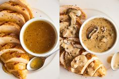 These impossibly easy sauces give an instant flavor boost to boneless, skinless chicken breasts. Easy Sauce For Chicken, New Chicken Recipes, Chicke Recipes, How To Cook Chicken, Sauce Recipes, Cooking Recipes, Easy Recipes, Healthy Recipes, How To Make Sauce