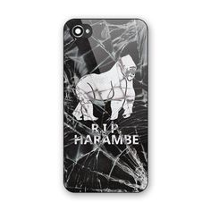 Best New Rare Harambe Cracked Glasses Hard Plastic Case Cover for iPhone 6s Plus #UnbrandedGeneric