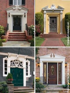 Exovations Door Pediment Burrlesson Home After Photo Outdoor Inspirations Pinterest