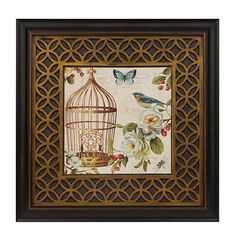 Free as a Bird II Framed Art Print