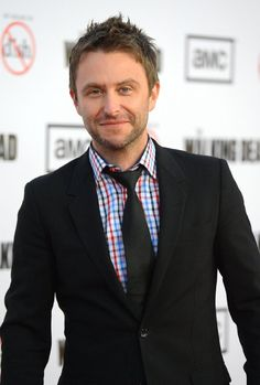Because nerds are WAY sexy, that's why. (Chris Hardwick at event of The Walking Dead)