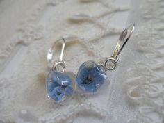 Love Is Blue-Sky Blue Forget-Me-Nots Tiny by giftforallseasons