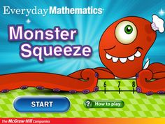 Monster Squeeze - a multiplayer guessing game to find the correct number on a number line