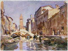 Venetian Canal, John Singer Sargent