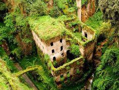 Il Vallone dei Mulini (Deep Valley of the Mills), Sorrento, Italy