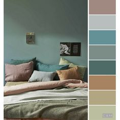 The post Modern & Subdued Interior Tones. appeared first on Slaapkamer ideeën. Wall Colors, House Colors, Colours, Paint Colors, Living Room Decor, Living Spaces, Bedroom Decor, Design Apartment, Living Room Color Schemes