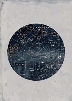 Celestial Constellations Zodiac Northern