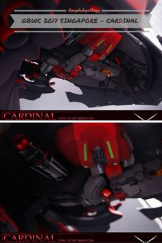 Gunpla Custom Build - Cardinal the Light Bringer. Gunpla World Cup Singapore 2017. Singapore GBWC 2017.