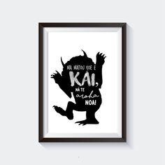 NA TE AROHA Printable Maori Wall Art | Etsy White Kimono, Maori Art, Wrap Coat, Black And White Design, Off Colour, Cloak, Mantle, Printable Wall Art, Creative Design