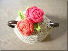 I don't know that I would ever make one, but I think tea cozies are so sweet!