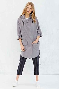 UNIF X UO Oversized Rain Mac Jacket - Urban Outfitters