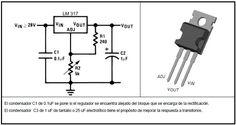 Regulador de tensión con LM317