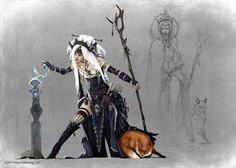 Pathfinder - Witch by Tim Kings-Lynne