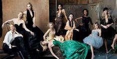"Leibovitz Group Shots: MARCH 2005: ""NOT SO DESPERATE HOUSEWIVES"" Uma Thurman, Cate Blanchett, Kate Winslet, Claire Danes, Scarlett Johansson, Rosario Dawson, Ziyi Zhang, Kerry Washington, Kate Bosworth, and Sienna Miller."
