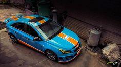 "Ultraleggera 18"" on Chevrolet Cruze Gulf Livery #OZRACING #RACING #ULTRALLEGERA…"