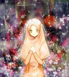 try different style its fun~~ its been awhile i didn't draw Hijab girl. Muslim Girls, Muslim Couples, Muslim Women, Islam Muslim, Manga Girl, Hijab Anime, Avatar Picture, Hijab Drawing, Islamic Cartoon