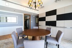 The Met - Bangkok - THB 120,000 / month Rental Property, Bangkok, Conference Room, Table, Furniture, Home Decor, Decoration Home, Room Decor, Tables