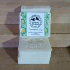 """4"""" X 3"""" Soap Labels by Two Little Blackbirds - Featured label by Online Labels"""
