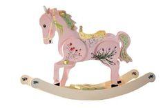 Sedia A Dondolo Per Bambini Mista : Fantastiche immagini in wooden rocking horses su