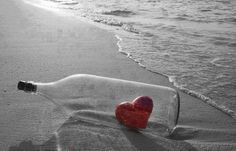 LOVE MESSAGE IN A BOTTLE....