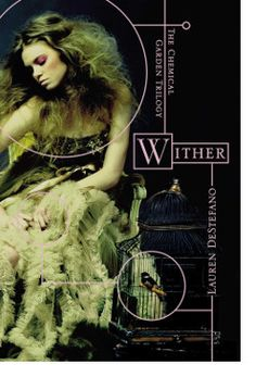 http://bookbarbarian.com/wither-the-chemical-garden-trilogy-by-lauren-destefano/ What if you knew exactly when you'd die? The first book of The Chemical Garden Trilogy.  By age sixteen, Rhine Ellery has four years left to live. A botched effort to create a perfect race has left all males born with a lifespan of 25 years, and females a lifespan of 20 years--leaving the world in a state of panic. Geneticists seek a miracle antidote to restore the human race, desperate orpha