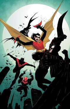 War of Robins by Patrick Gleason