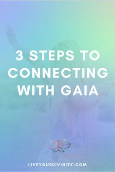 Are you seeking a deep spiritual connection with the divine feminine? Read my 3 steps to connecting with gaia goddess to lead your purpose driven life. mother gaia, gaia symbol.