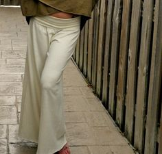 The Prana Pant in Organic Hemp Cotton. Made to by Gratefulthreads, $95.00