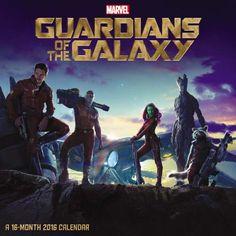 2016 Guardians Of The Galaxy Wall Calendar