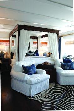Two Vintage Seaside Bedrooms