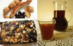 Demirhindi şerbeti Osmanlı döneminde Ramazan'da ve yaz aylarında tüketilen, çok revaçta olan ve Kanuni Sultan Süleyman'ın en sevdiği şerbetmiş. Demirhindi Hindistan'da yetişen ve görünümü hurmaya benzer bir meyve. Bu yüzden Arapça'daHint hurması an... Homemade Syrup, Tamarind, Turkish Recipes, Waffles, French Toast, Drinks, Breakfast, Health, Food