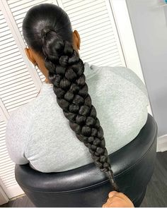 10 Popular Hairstyles for Black Women to Try in 2020 – Braids Hairstyles Pictures, Weave Ponytail Hairstyles, Braided Hairstyles For Black Women, Baddie Hairstyles, African Braids Hairstyles, Braids For Black Women, Braids For Black Hair, Hair Pictures, Girl Hairstyles