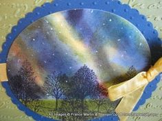 ▶a  WHOLE page of links to neat TUTORIAL Videos.  Stamping Nothern Lights   frenchiestamps.com - YouTube