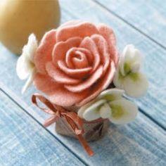 【Clover】Rose ♥ Felt Wool Doll