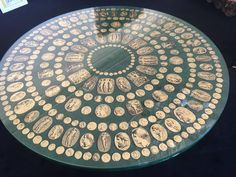"""Piero Fornasetti """"Cammei"""" Dining Table 