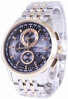 c5e80d8827d Citizen Eco-drive Radio Controlled World Time At8116-65e Men s Watch (FREE  Shipping