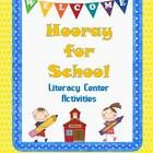 $4.49 This is an English Language Arts Literacy Center Packet for Grades 1-2. It includes Common Core Standards for Grade 1and 2 , 8 Literacy Center Activities including Roll the Die and Read Short Vowel words ending in /sk/ and/ck/, Singular and Plural Nouns, How Many Syllables? and much more