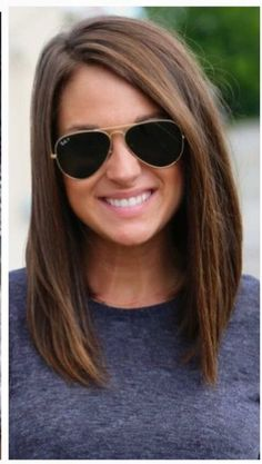 Short brown hair color and cut Mom Hairstyles, Straight Hairstyles, Black Hairstyles, Medium Brown Hairstyles, Long Bob Haircuts, Layered Haircuts, Latest Hairstyles, Celebrity Hairstyles, Wedding Hairstyles